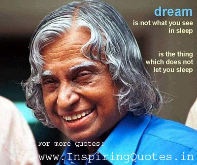 Abdul Kalam Inspirational Quotes pictures wallpapers