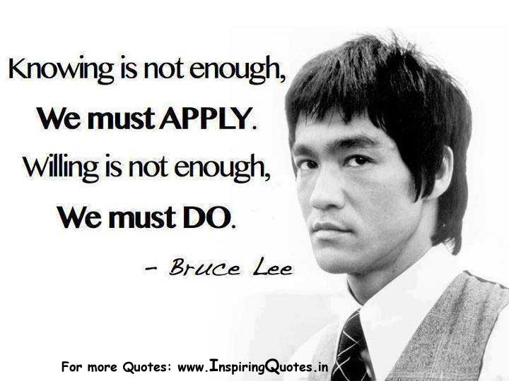 Bruce Lee Inspirational Quotes Thoughts Images Wallpapers