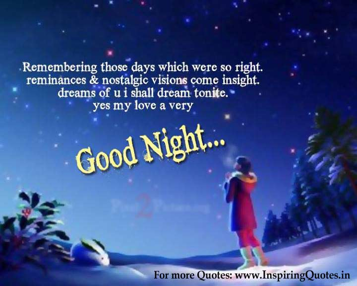 Good Night Love Quotes, Say Good Night Thoughts Images Wallpapers Pictures Photo