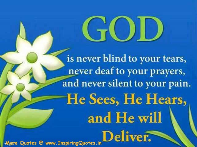 Inspirational Quotes on God and Faith Motivational Thoughts about God Images Wallpapers Photos