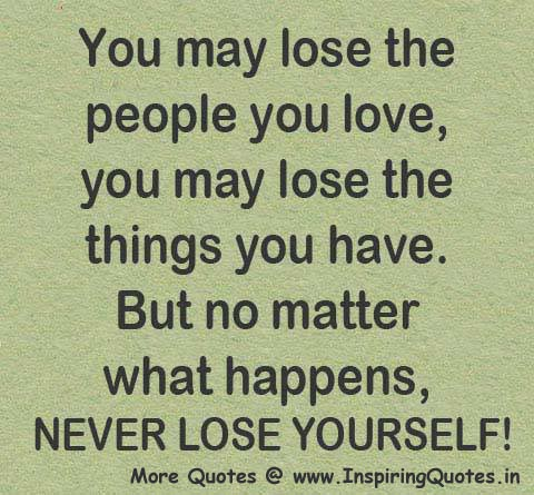 Never Lose Yourself l Quotes Thoughts Sayings Images Wallpapers Pictures
