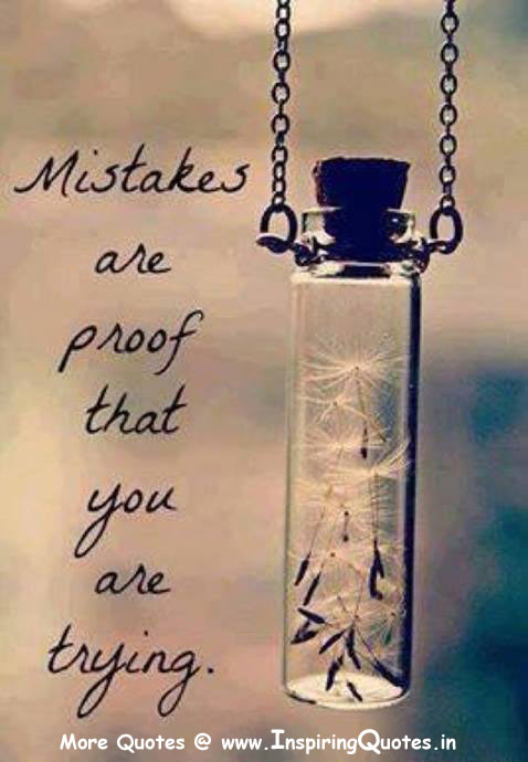 Mistakes Quotes Thoughts Images Wallpapers Pictures